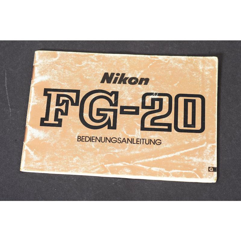 Nikon Anleitung FG-20