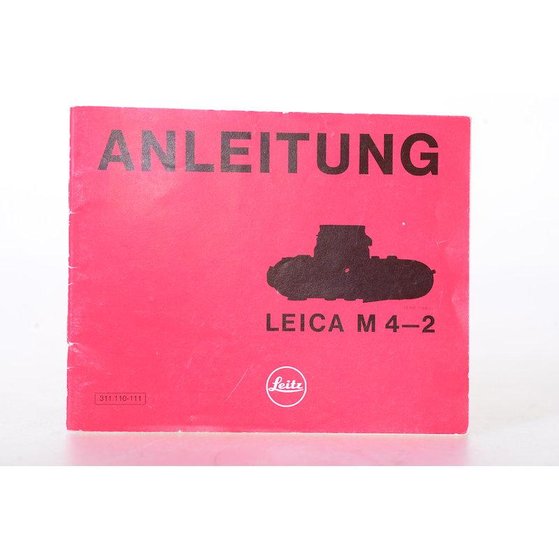 Leica Anleitung M4-2
