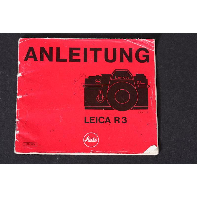 Leica Anleitung R-3