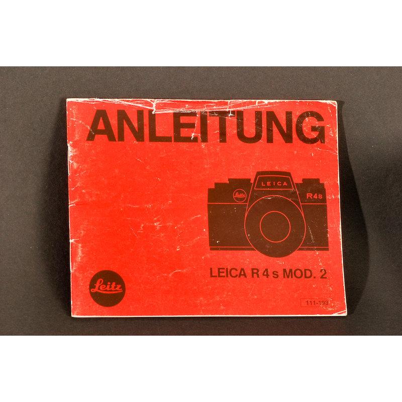 Leica Anleitung R-4s Mod. 2