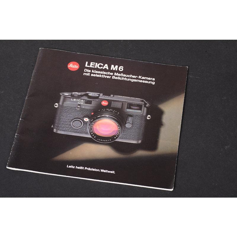 Leica Prospekt M6