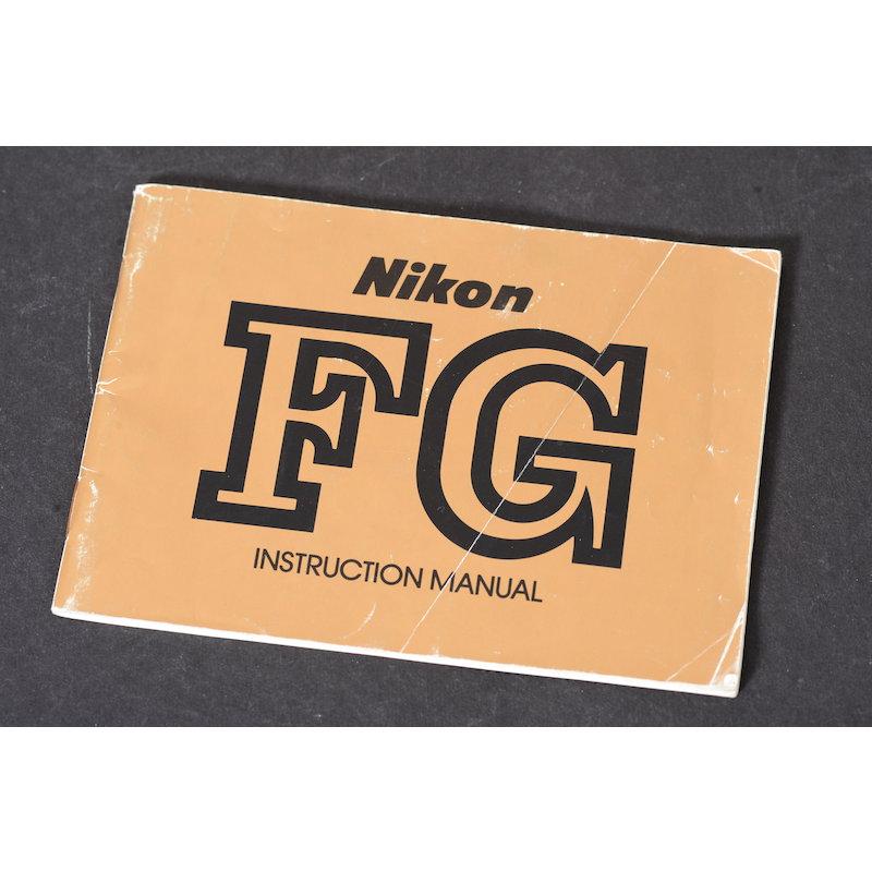 Nikon Anleitung FG (Englisch)