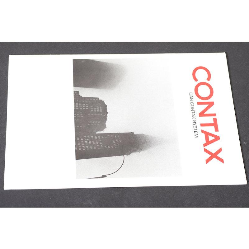 Contax Prospekt Das Contax System