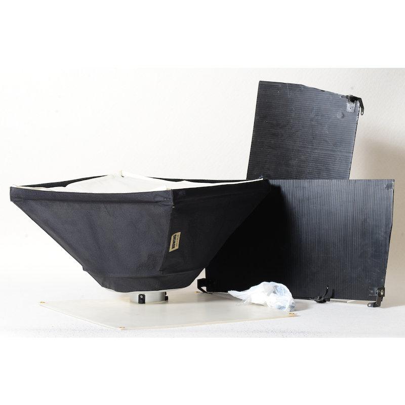 Bowens Softbox 60x60+Softscheibe+Flügeltor