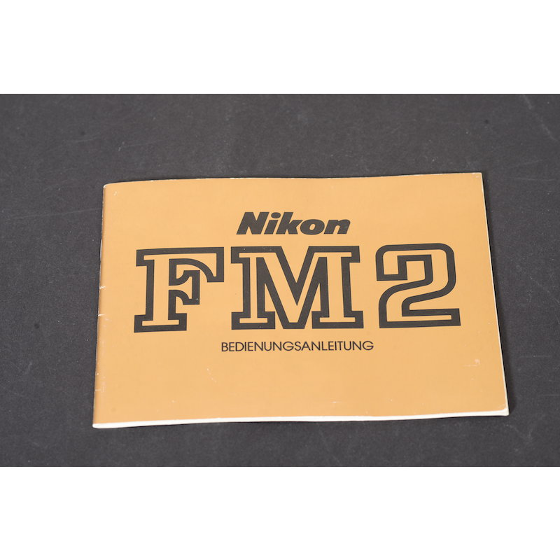 Nikon Anleitung FM2