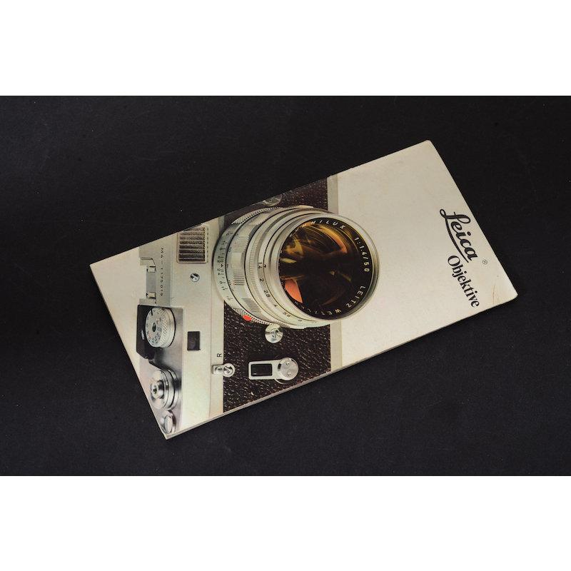 Leica Prospekt Leica Objektive Liste 110.74a