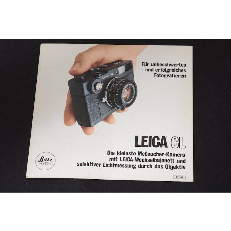 Leica Prospekt CL Liste 112-92