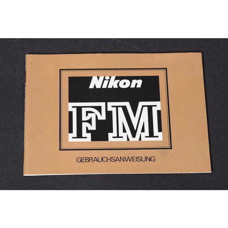 Nikon Anleitung FM