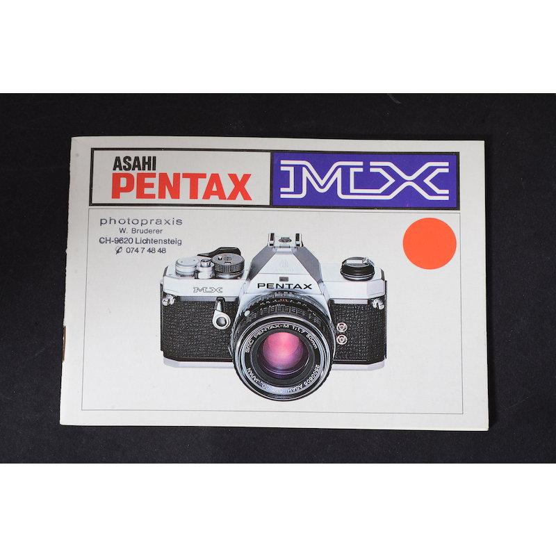 Pentax Anleitung MX