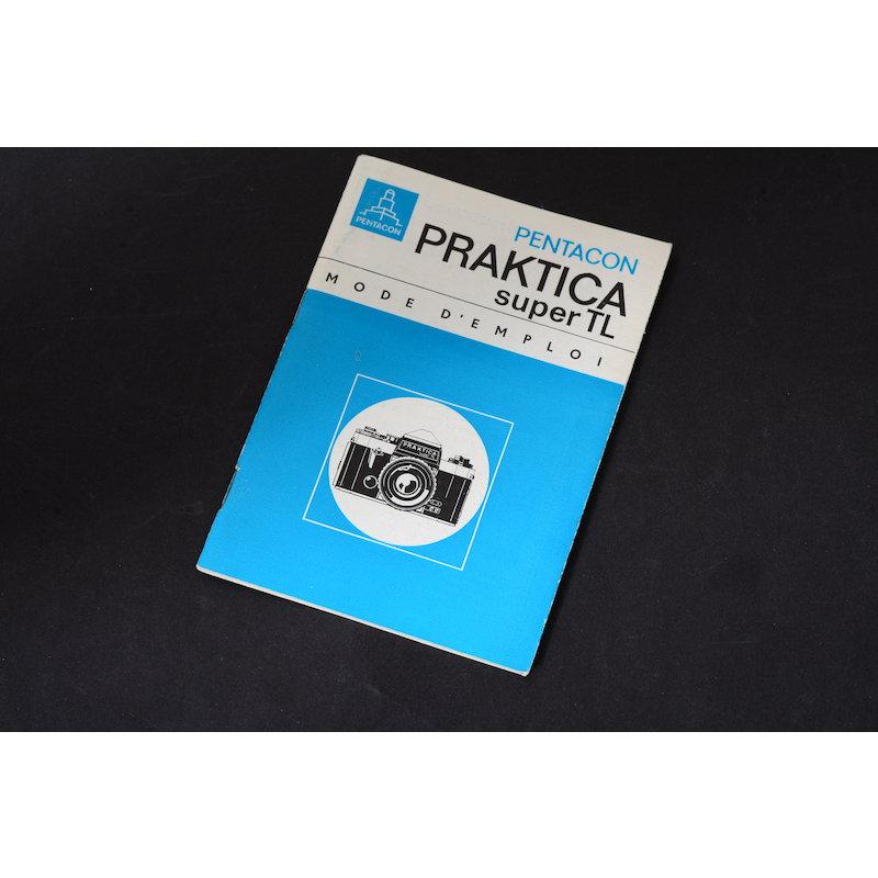Pentacon Anleitung Super TL (Französisch)
