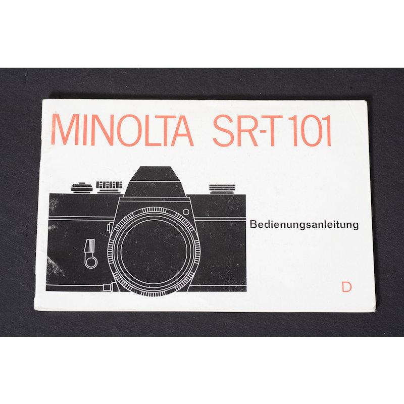 Minolta Anleitung SR-T 101