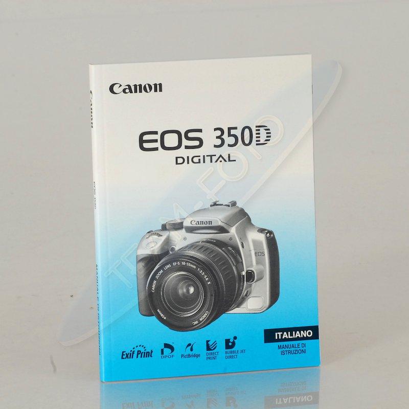 Canon Anleitung EOS 350D (Italienisch)