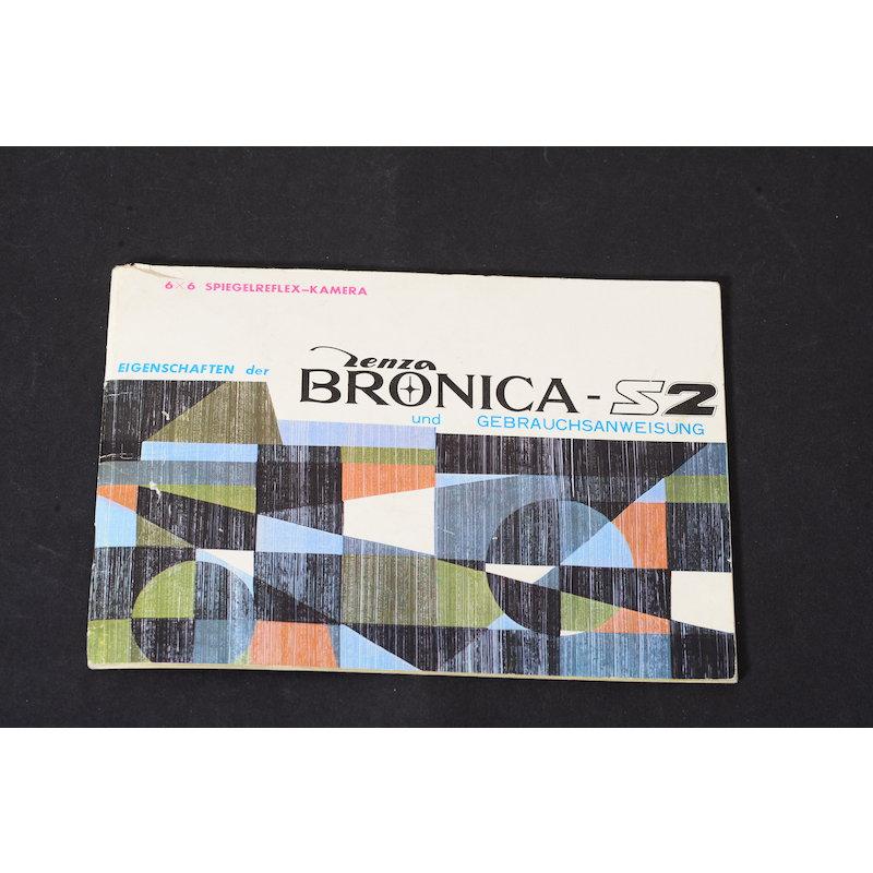 Bronica Anleitung S2 6x6