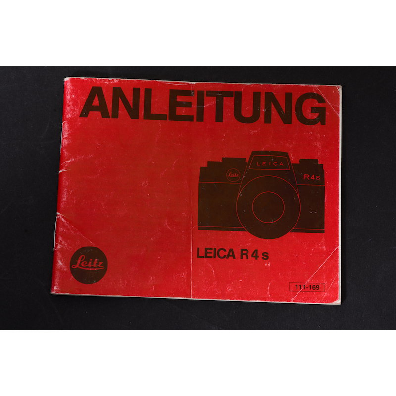 Leica Anleitung R4s