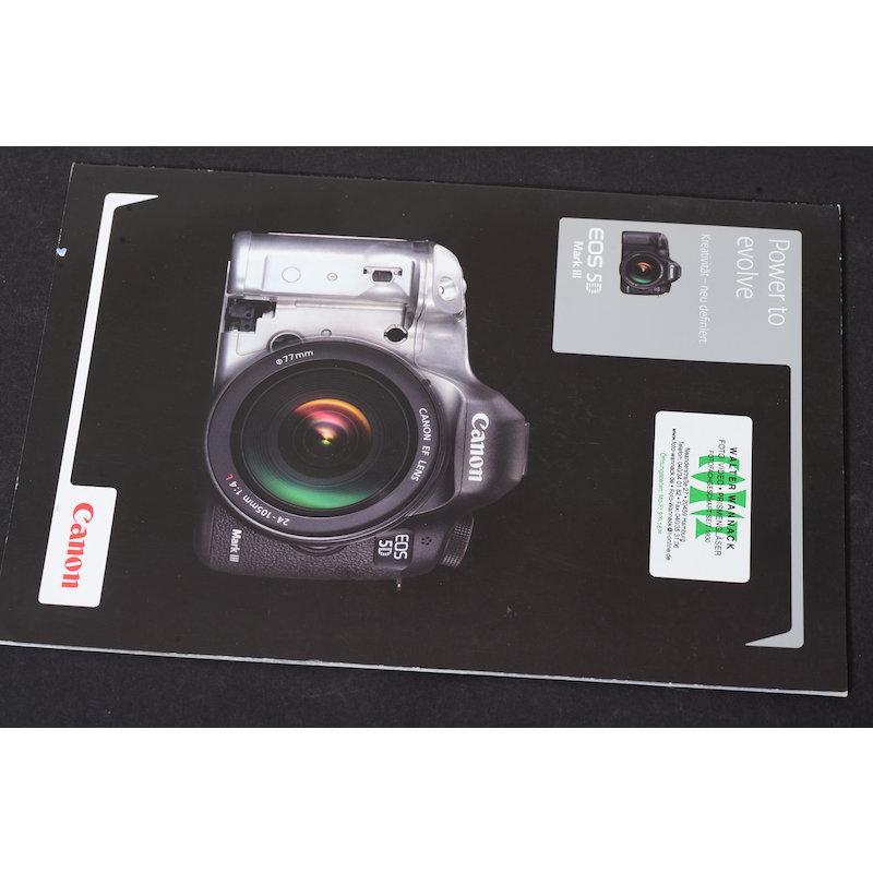 Canon Prospekt EOS 5D Mark III