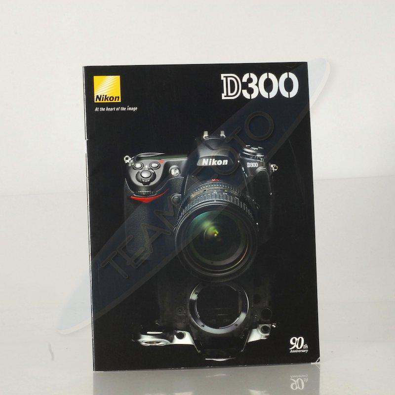 Nikon Prospekt D300