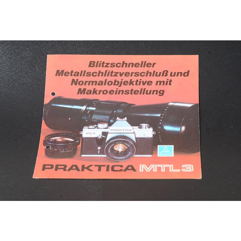 Pentacon Prospekt Praktica MTL-3