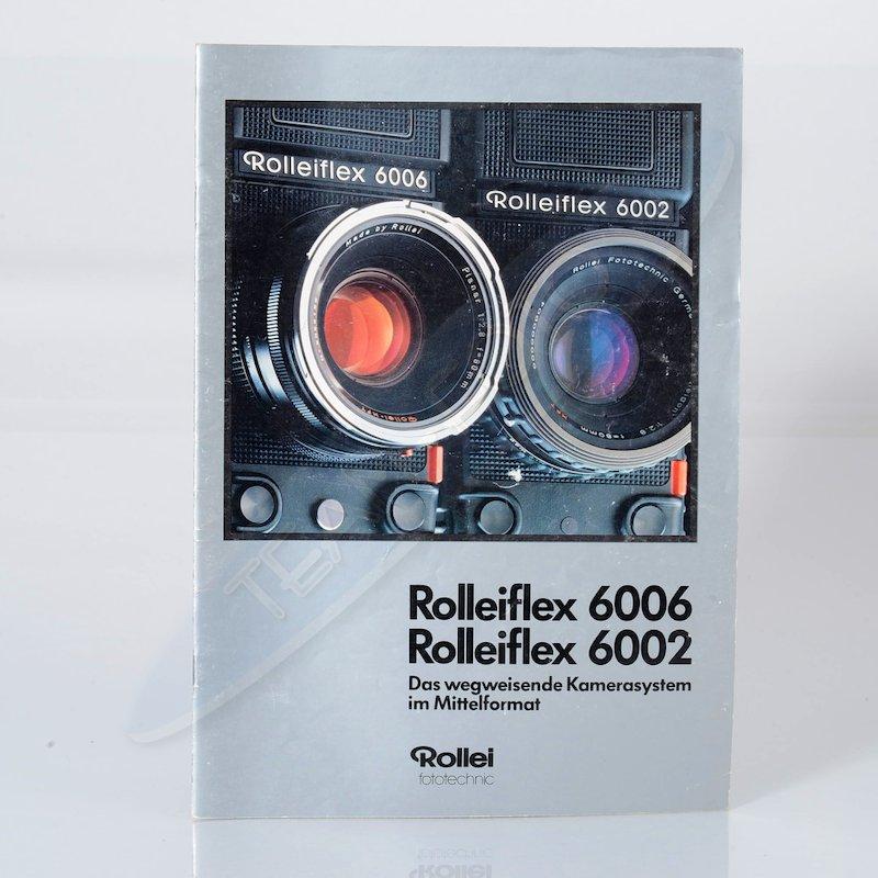 Rollei Prospekt Rolleiflex 6006/6002