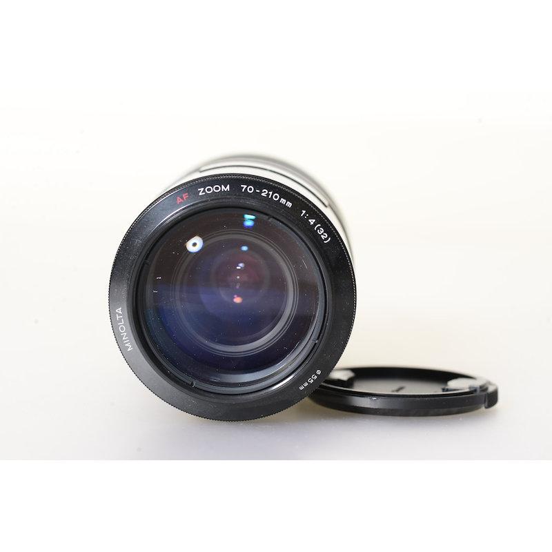 Minolta AF 4,0/70-210 kleiner Kratzer Frontlinse