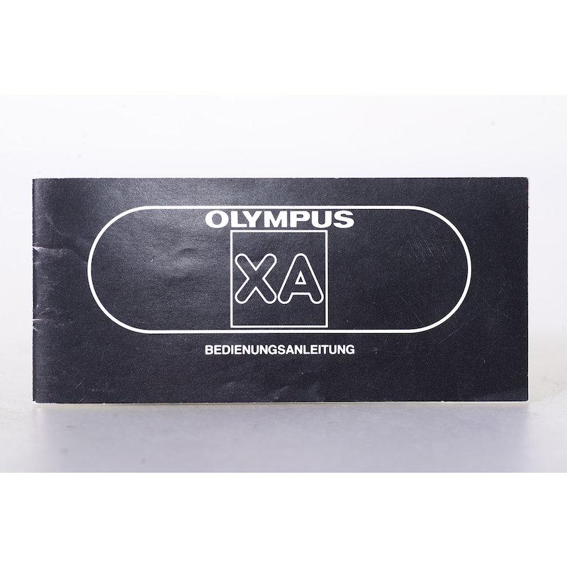 Olympus Anleitung XA