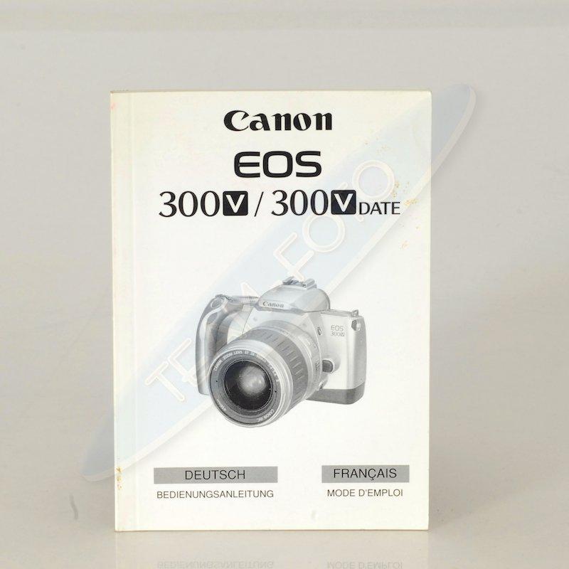 Canon Anleitung EOS 300V/300V Date