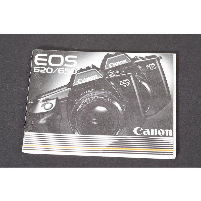 Canon Anleitung EOS 620/650