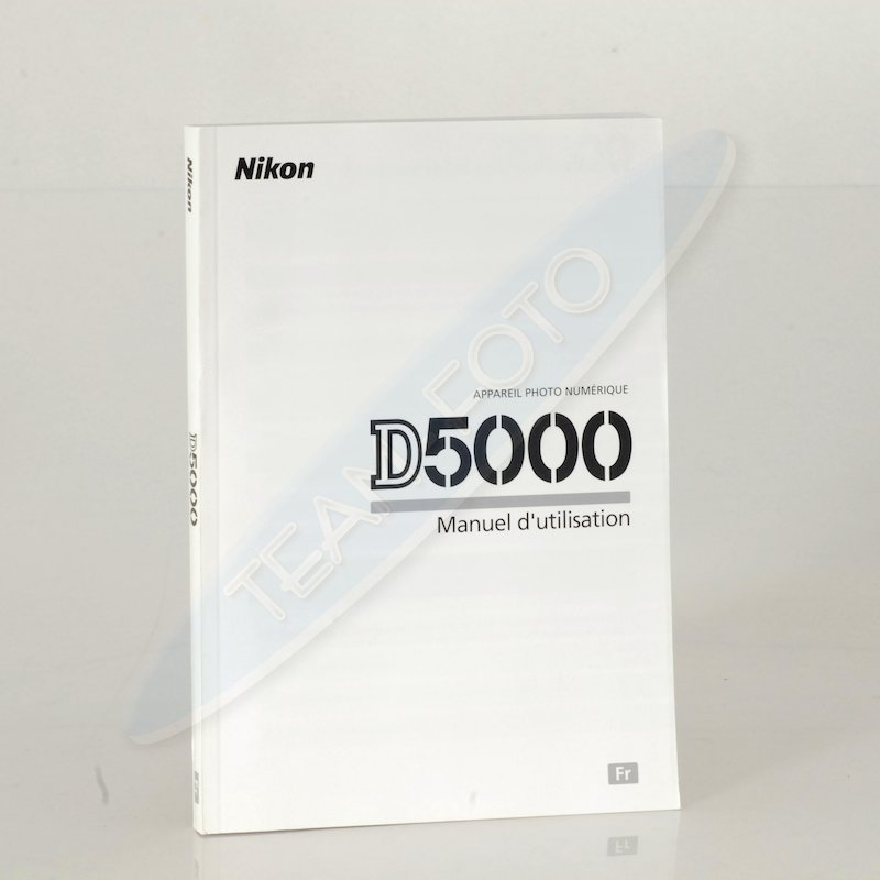 Nikon Anleitung D5000 (Französisch)