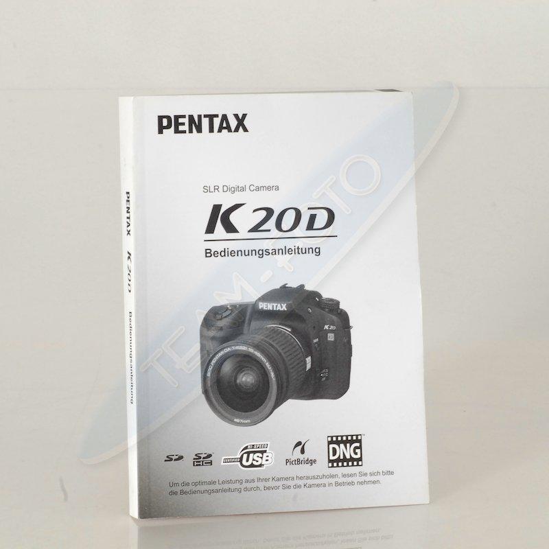 Pentax Anleitung K20D