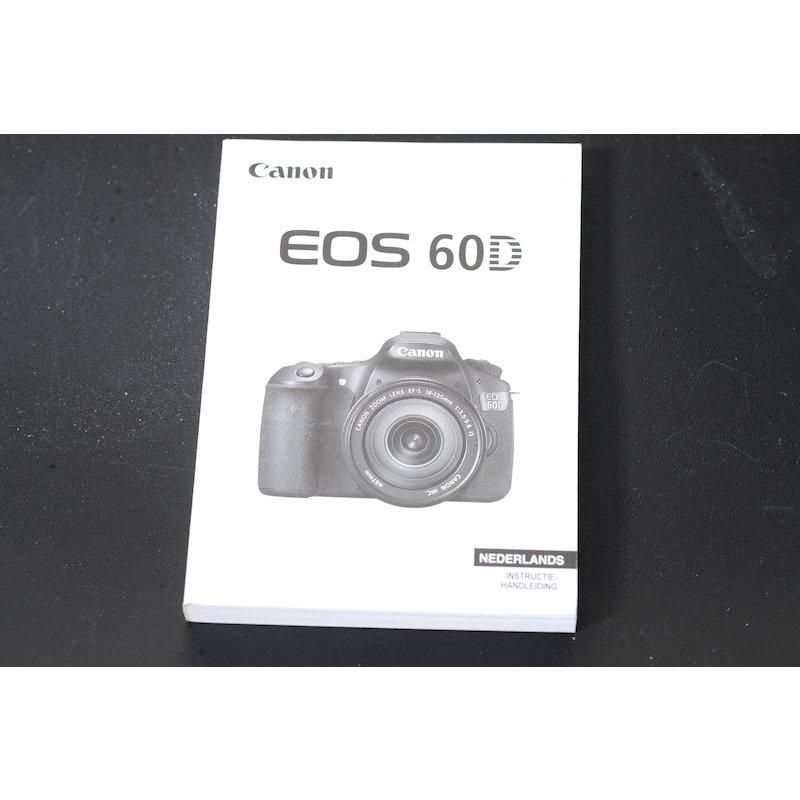 Canon Anleitung EOS 60D (Niederländisch)