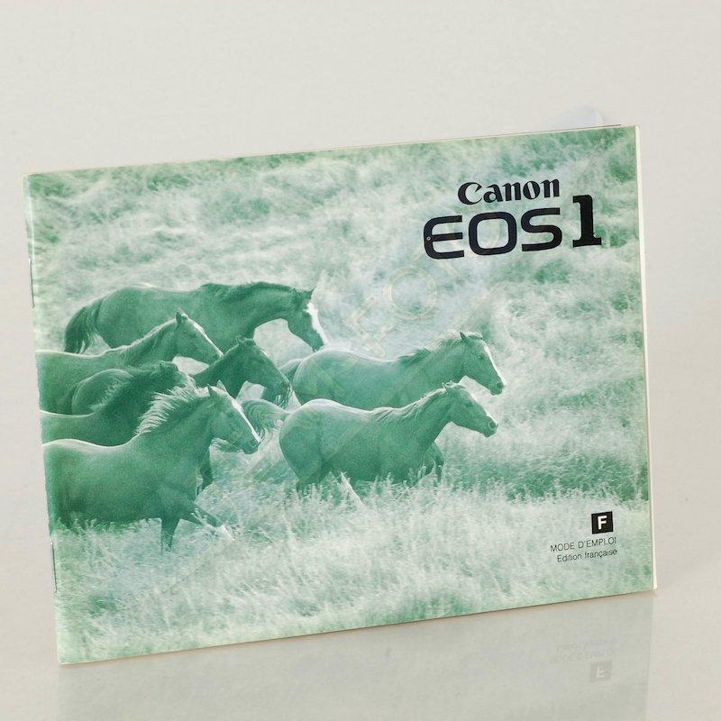 Canon Anleitung EOS-1 (Französisch)