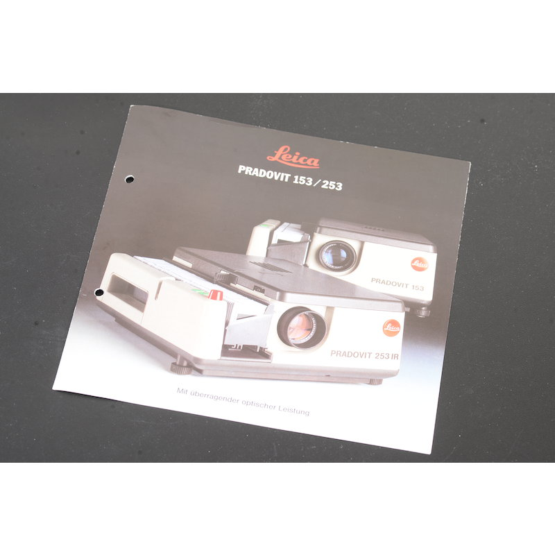 Leica Prospekt Pradovit 153/253