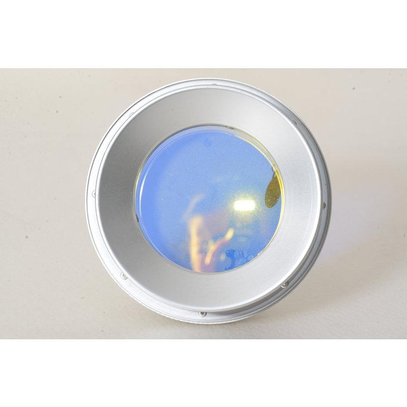 Hedler Spezial-Tubus mit Tageslichtfilter Silber