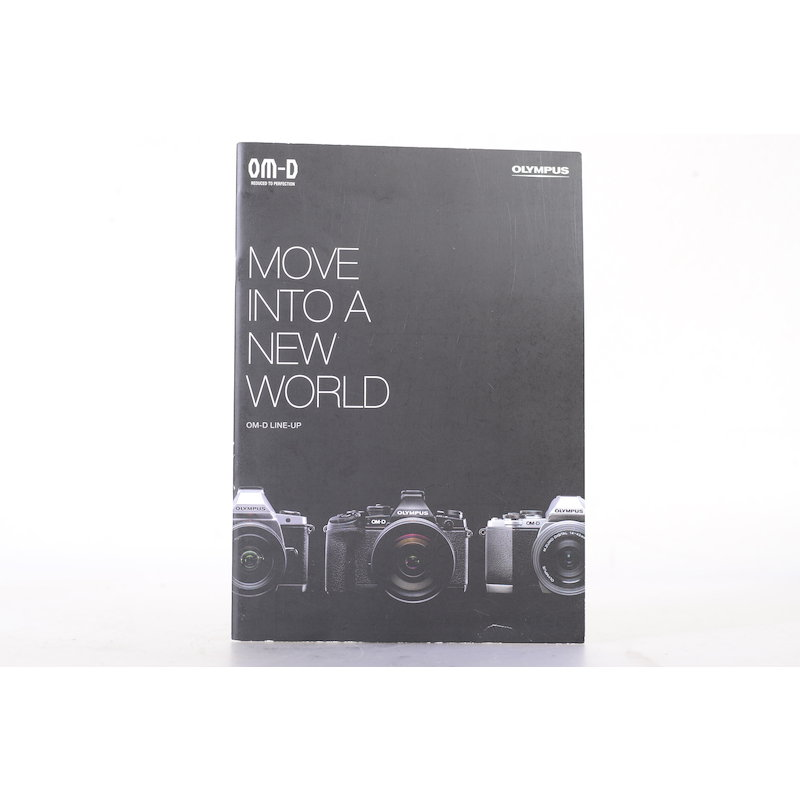 Olympus Prospekt OM-D Move Into A New World