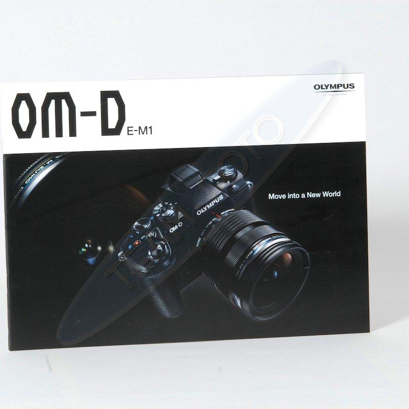 Olympus Prospekt OM-D E-M1