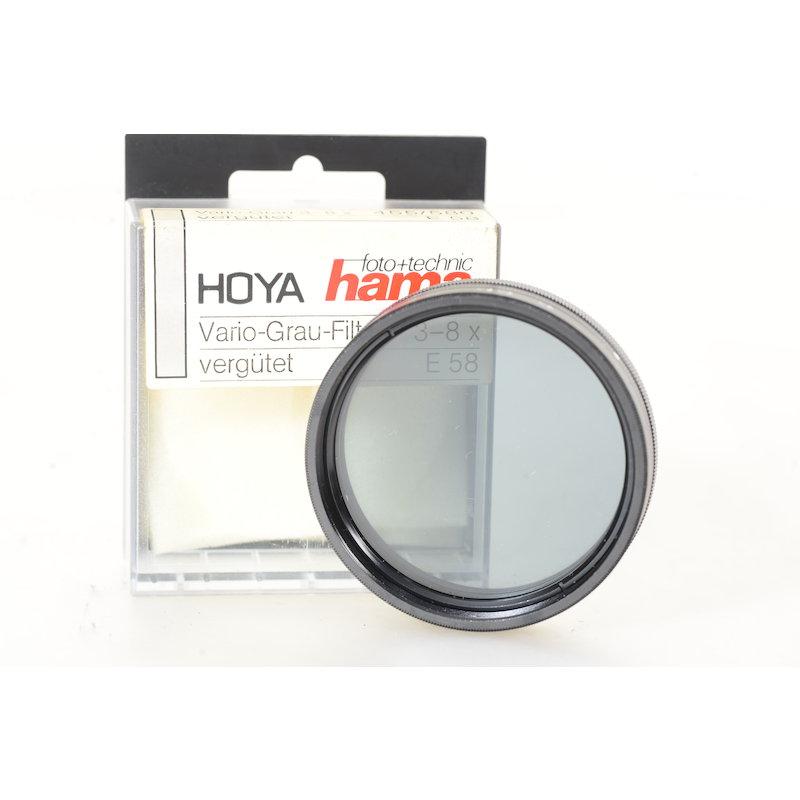 Hama Vario-Graufilter 3-8x E-58