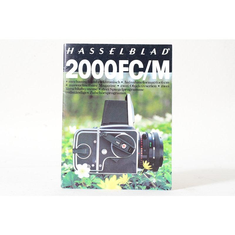 Hasselblad Prospekt 2000 FC/M
