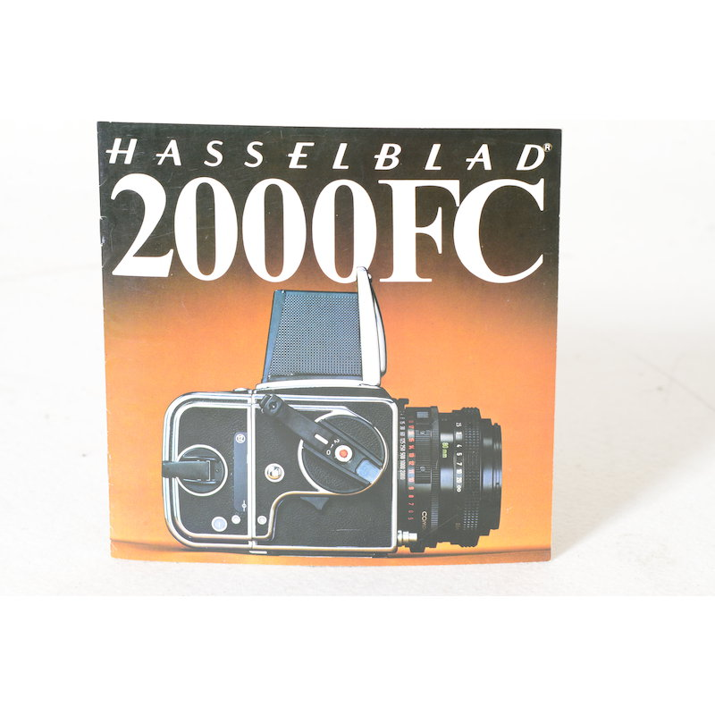 Hasselblad Prospekt 2000 FC