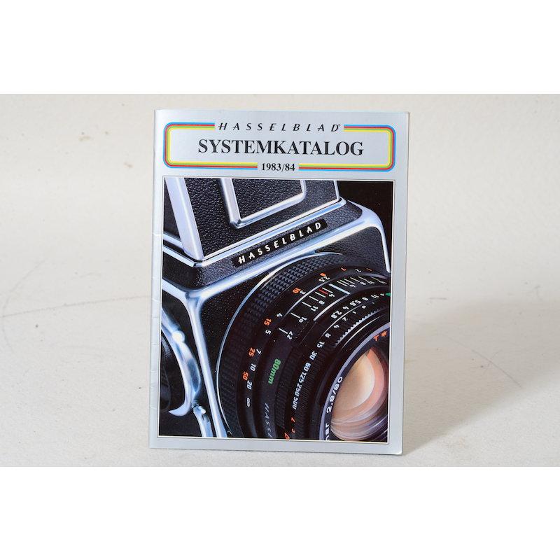 Hasselblad Produktkatalog 1983/1984