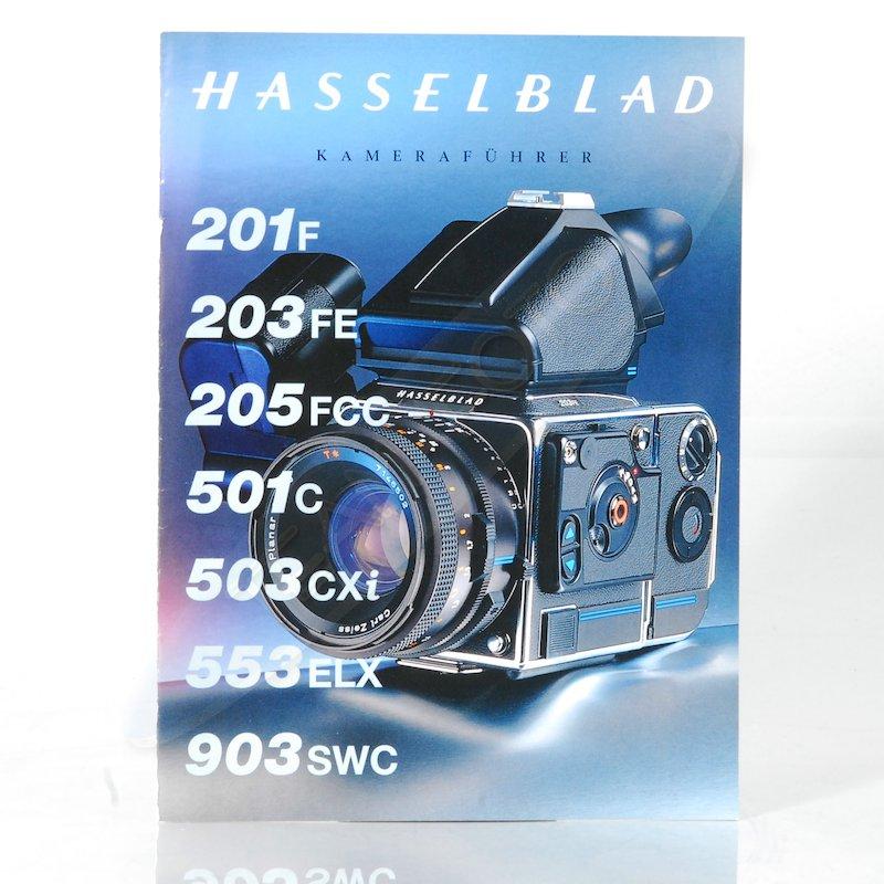 Hasselblad Prospekt Kameraführer