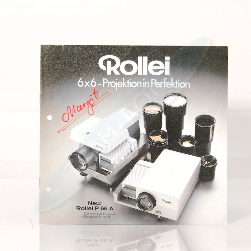 Rollei Prospekt 6x6 - Projektion in Perfektion