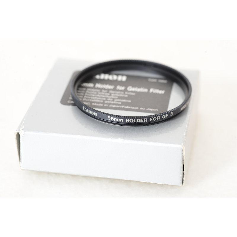 Canon Filteradapter E-58 f. Gelatine Filter Halter