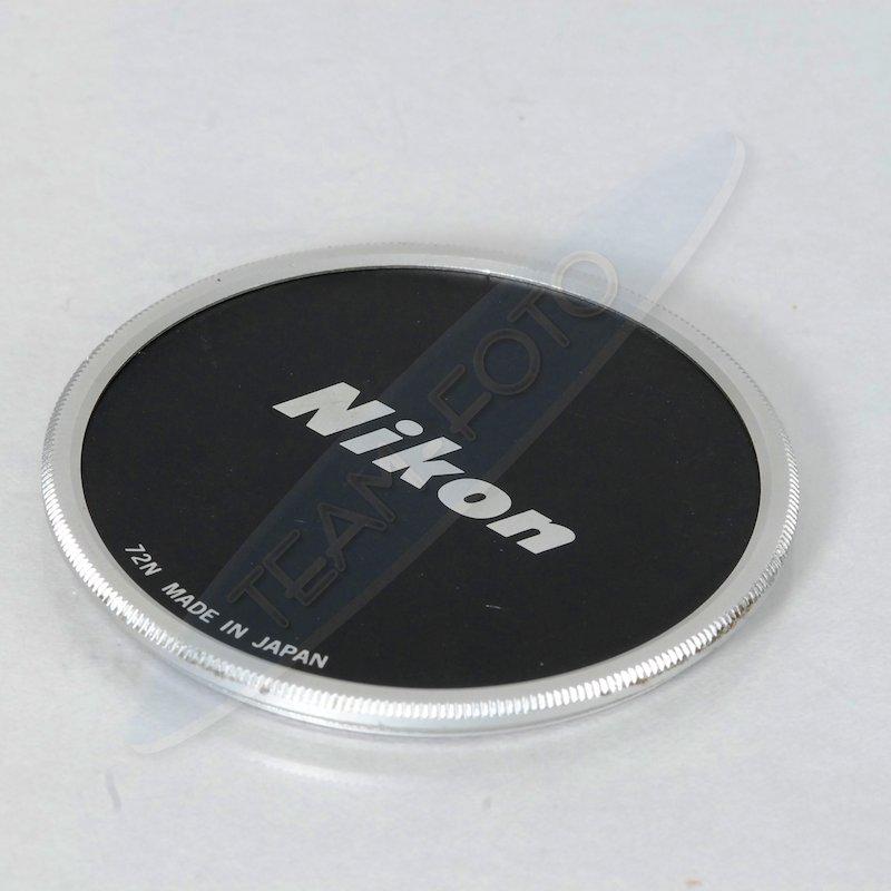 Nikon Objektivdeckel Metall E-72