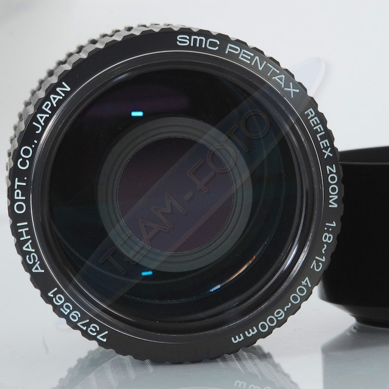 Pentax smc 8 0 12 0 400 600 miroir objectif ebay for Objectif a miroir