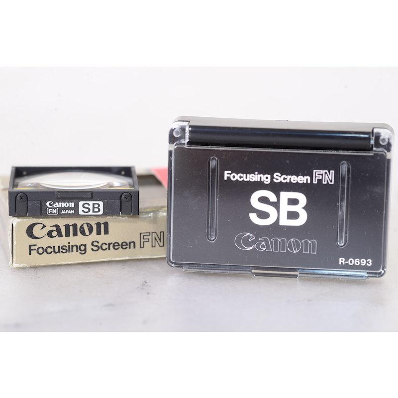 Canon Einstellscheibe SB F-1 New