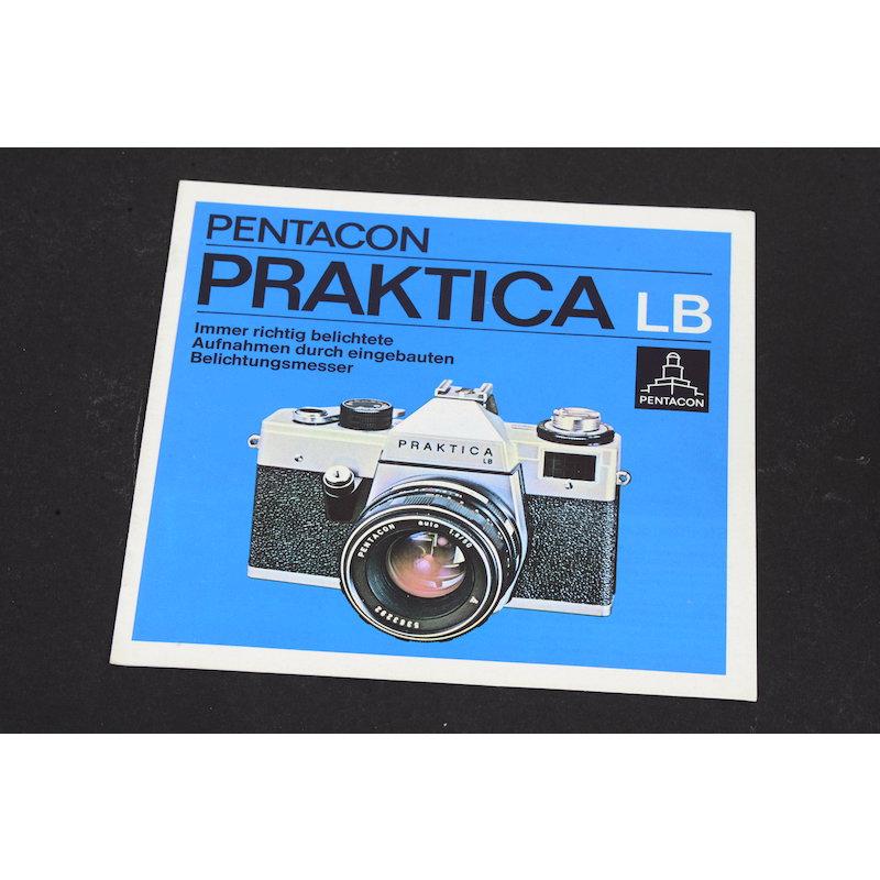 Pentacon Prospekt Praktica LB