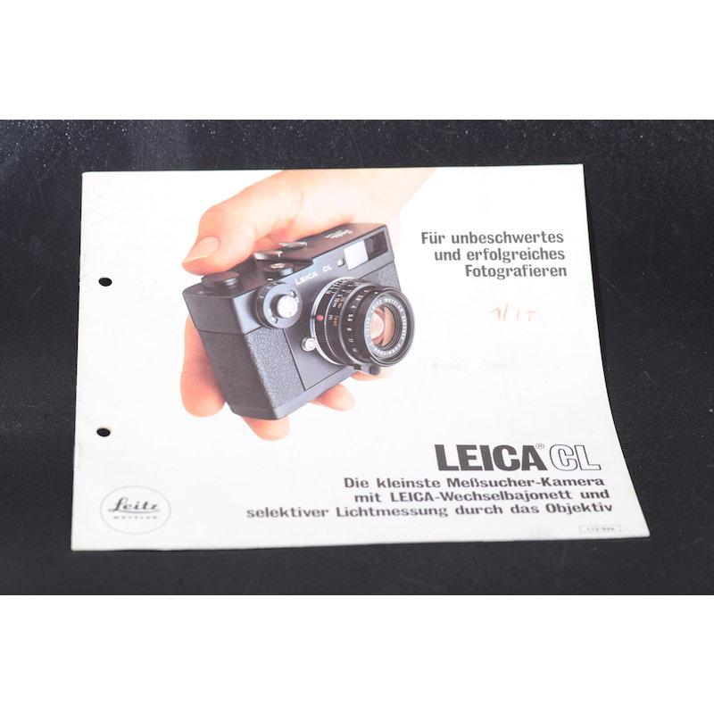 Leica Prospekt CL