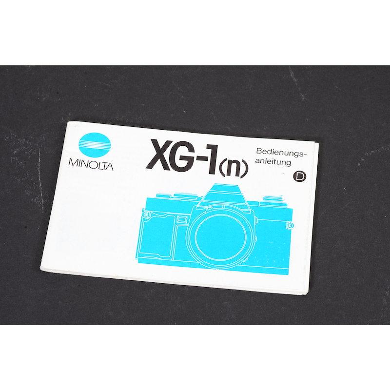 Minolta Anleitung XG-1(n)