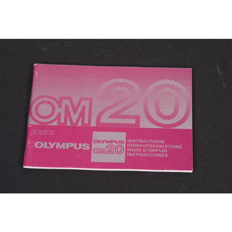 Olympus Anleitung OM-20