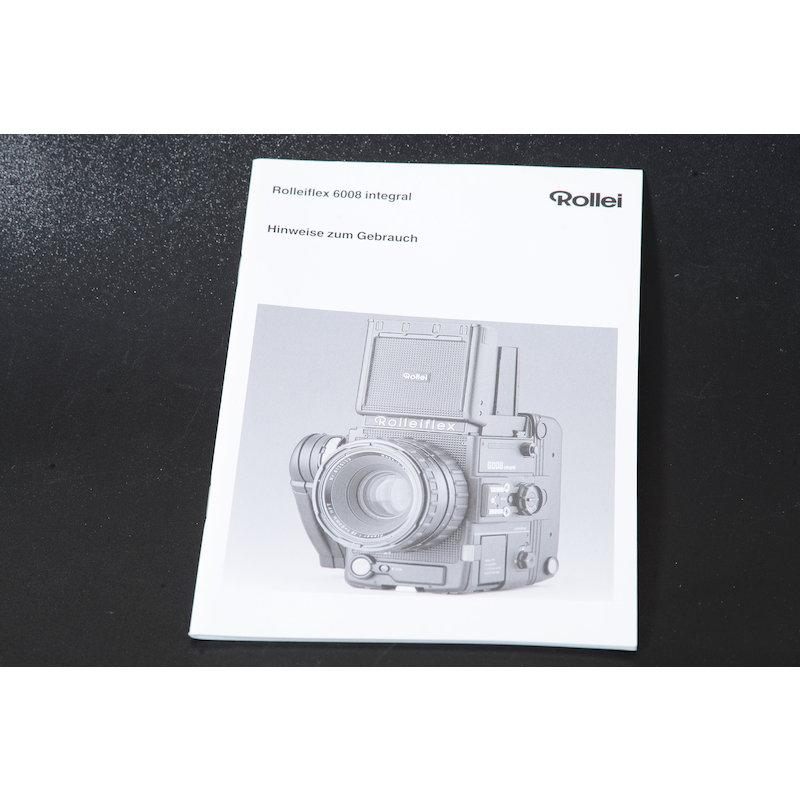 Rollei Anleitung Flex 6008 Integral Hinweise zum Gebrauch