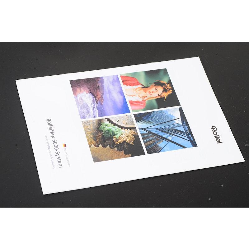 Rollei Prospekt Rolleiflex 6000 System